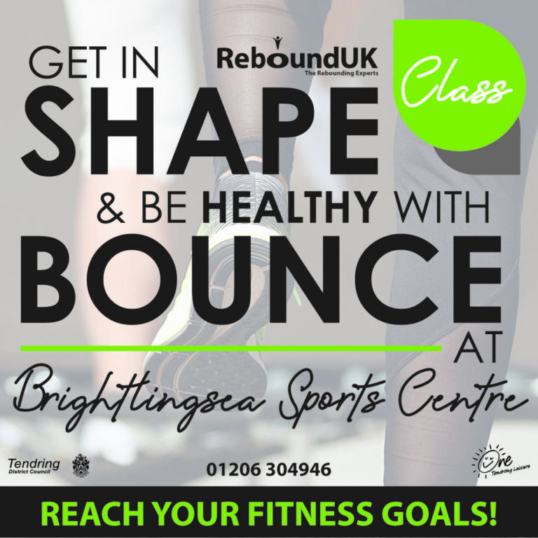 Join a Bounce Class at Brightlingsea Poster