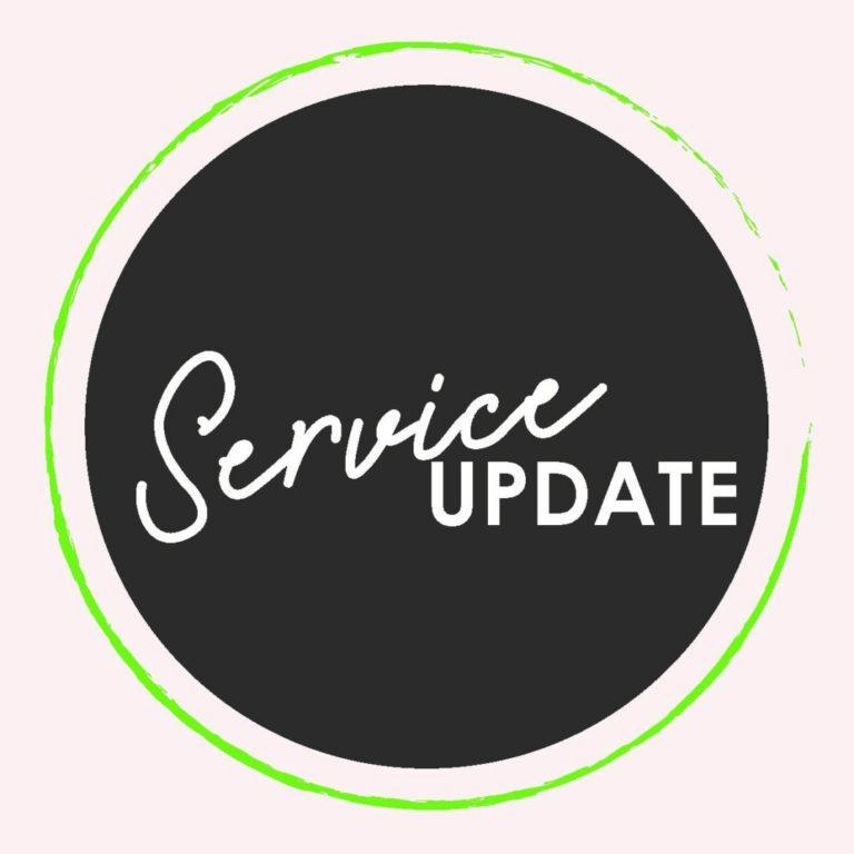 Service updates photo