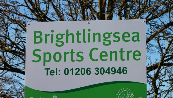 The sign outside Brightlingsea Sports Centre