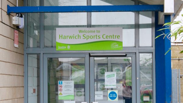 The Entrance to Harwich Sports Centre
